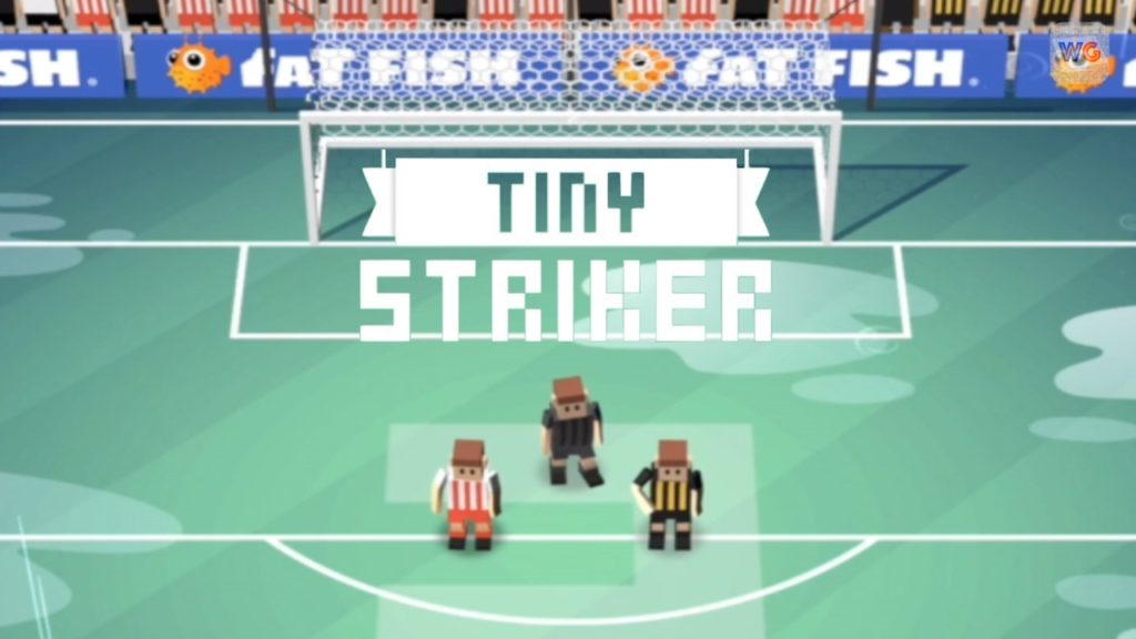 NEW Tiny Football Soccer Game by Fat Fish | Tiny Striker Gameplay