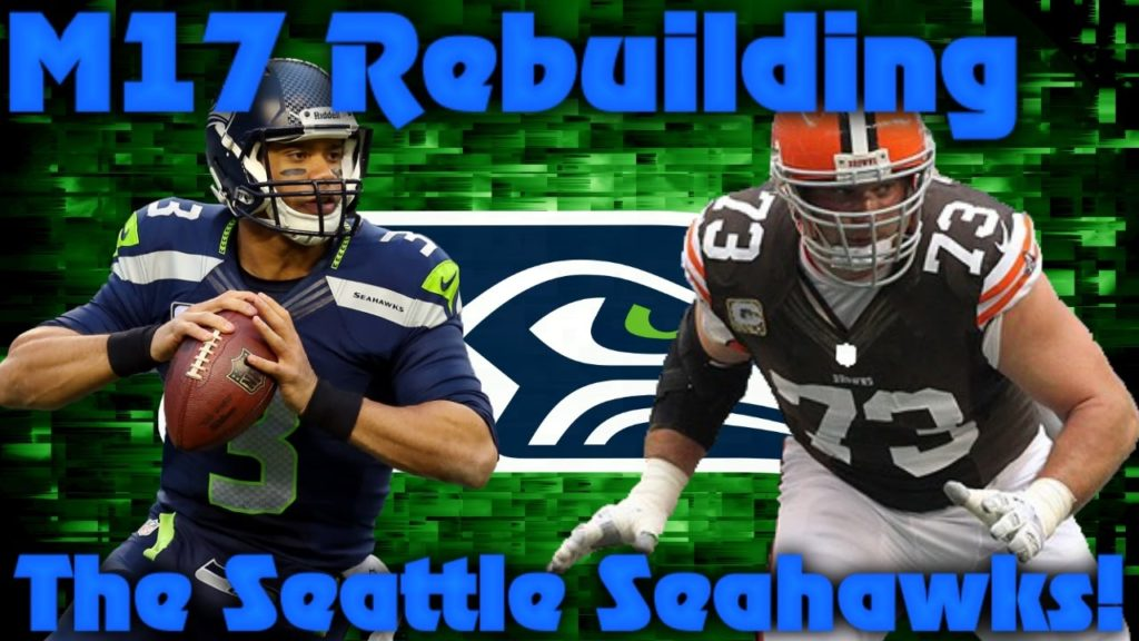 Madden 17 Franchise | Rebuilding (Reloading) The Seattle Seahawks! Come on Russell!