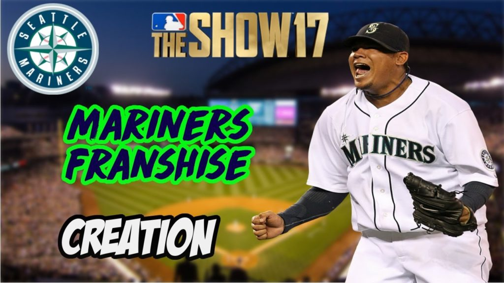 MLB The Show 17 Mariners Franchise – Creation – #1