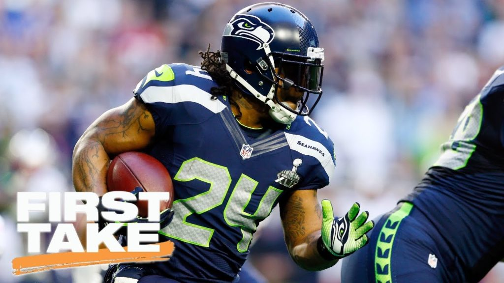 Should Seahawks Allow Marshawn Lynch To Sign With Pats?   First Take   April 11, 2017