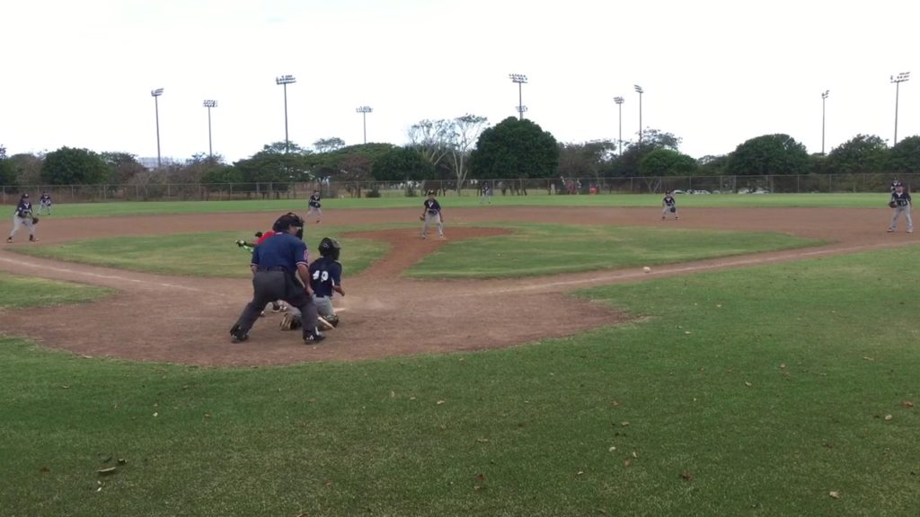 Mililani mariners vs Raiders 4/9/17 – Kai Hirayama
