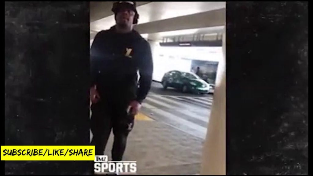 Marshawn Lynch Slaps A Seattle Seahawks Fan's IPhone To The Floor For Filming Him In Los Angeles