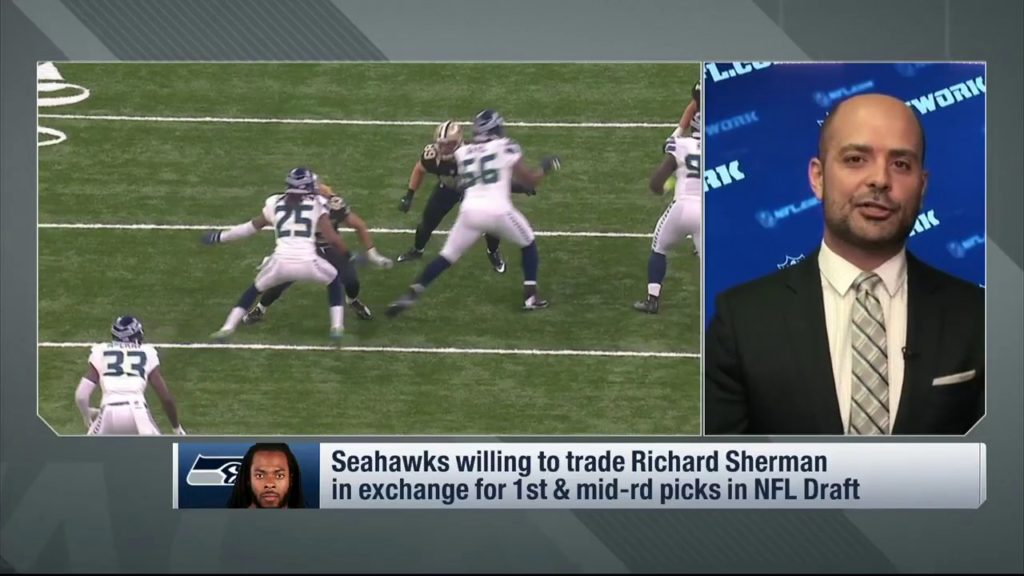 Garafolo No team is close to matching Seahawks trade offer on Sherman   Apr 11, 2017