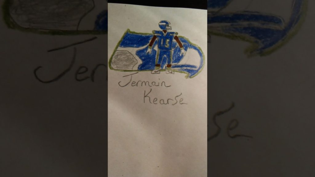 Best Seattle Seahawks drawing…..that I can do