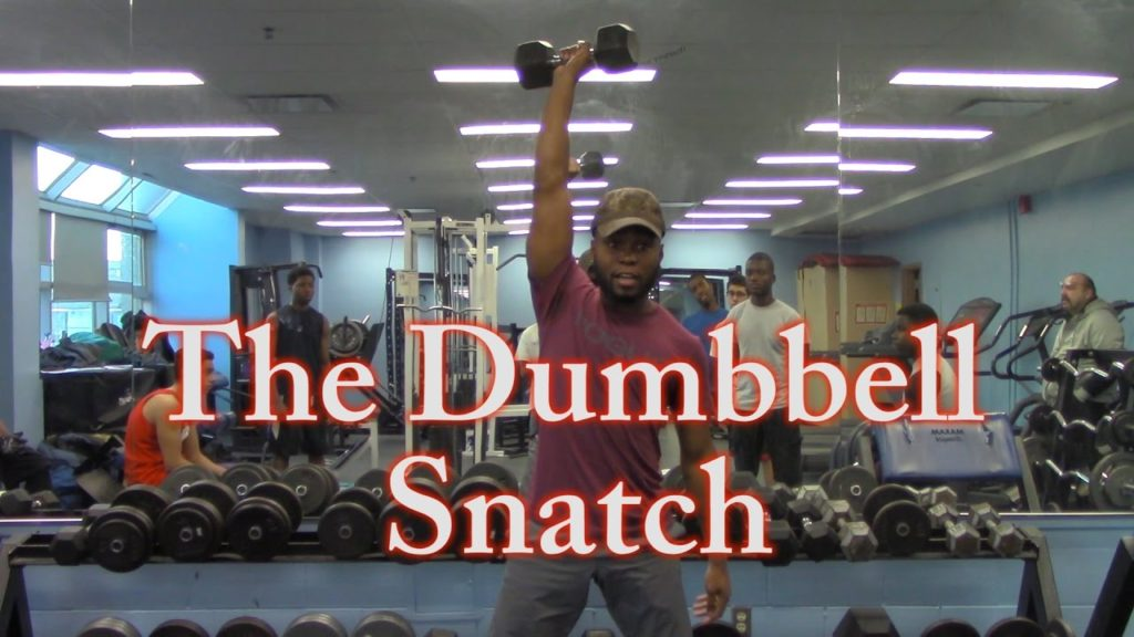 The Dumbbell Snatch   Henry Carr Football