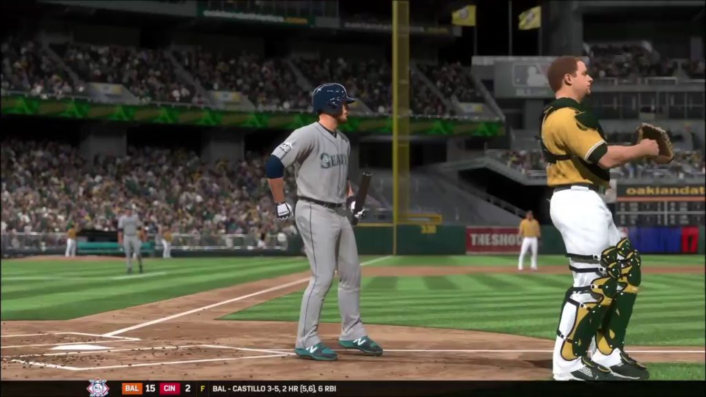 MLB The Show 17 – Seattle Mariners vs Oakland Athletics (Game 1)