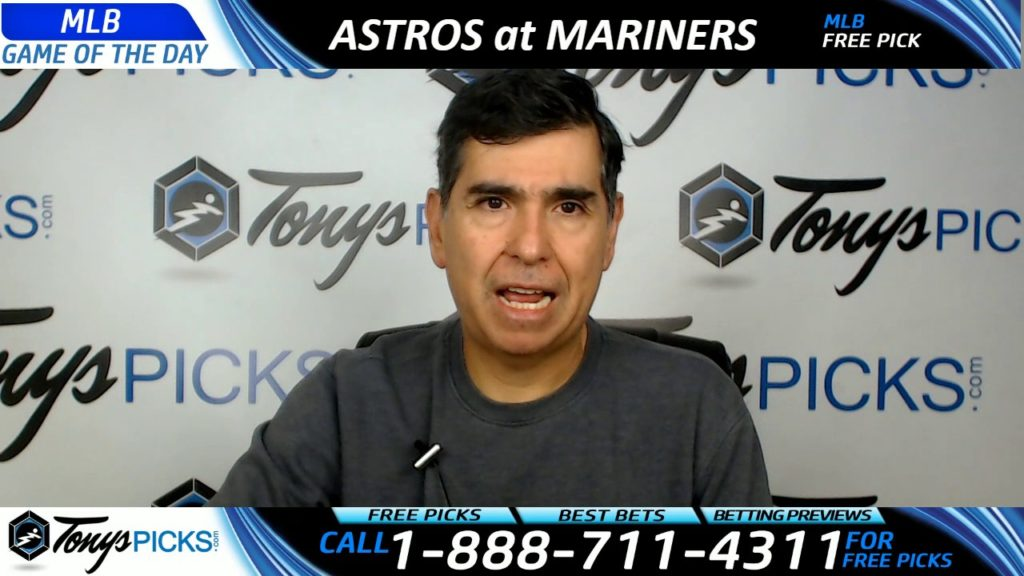 Houston Astros vs. Seattle Mariners Free MLB Baseball Picks and Predictions 4/12/17