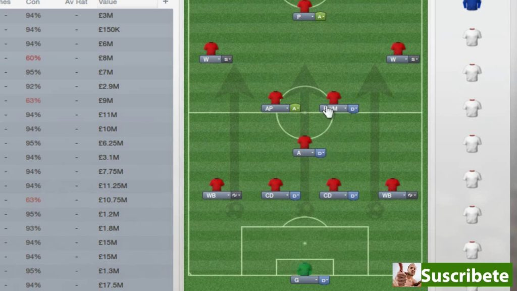 Football Manager 2013 | Tactics Tuesday | 4-4-2 – Manchester United