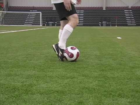 How To Kick A Soccer Ball Football   Soccer Kicking Shooting Technique