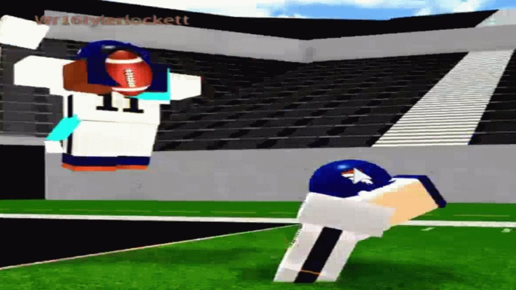 Saved By Tyler Lockett | Legendary Football Roblox | 4/24/2017 | Bugeekman