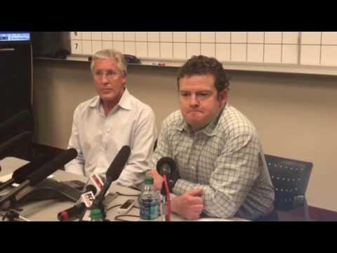 Seahawks Schneider and Carroll.
