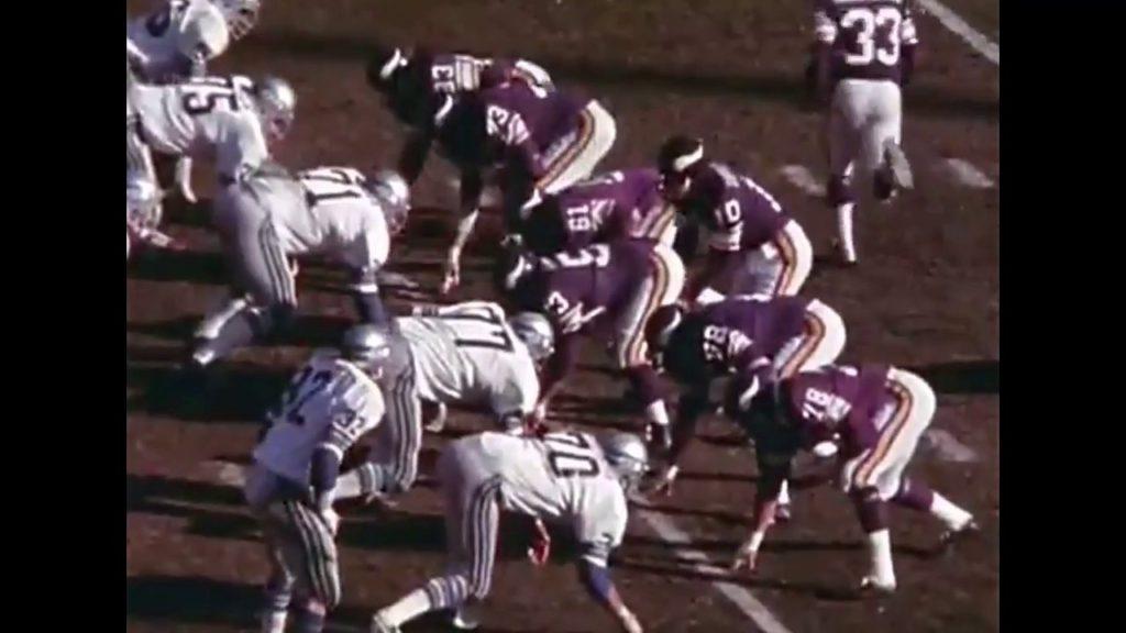1976 Seahawks @ Vikings