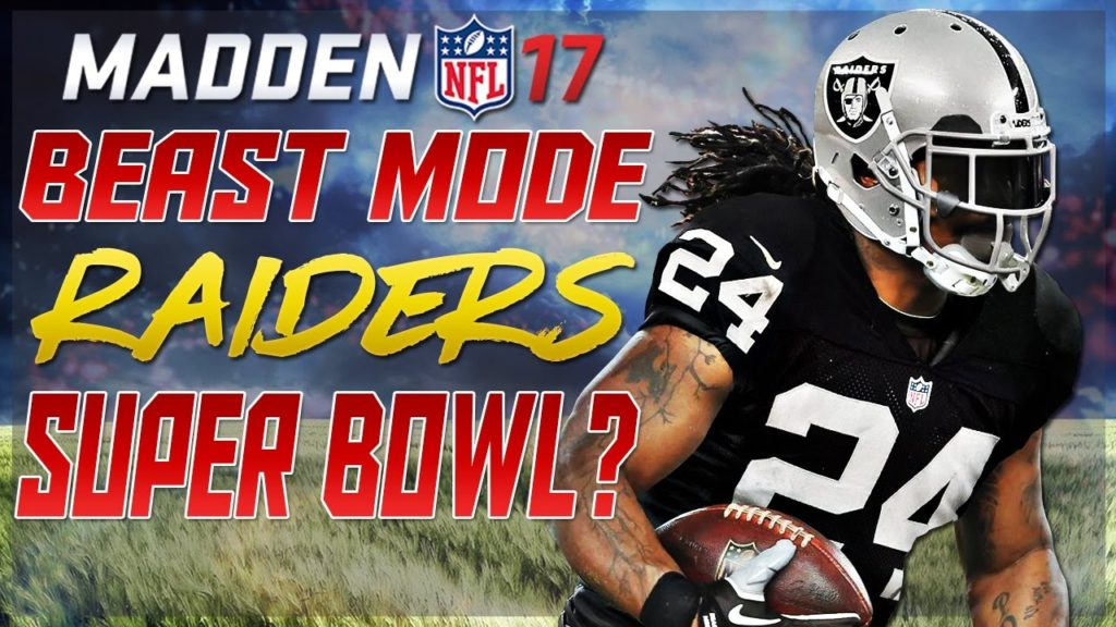 CAN MARSHAWN LYNCH & THE RAIDERS WIN THE SUPER BOWL? MADDEN NFL 17 CHALLENGE