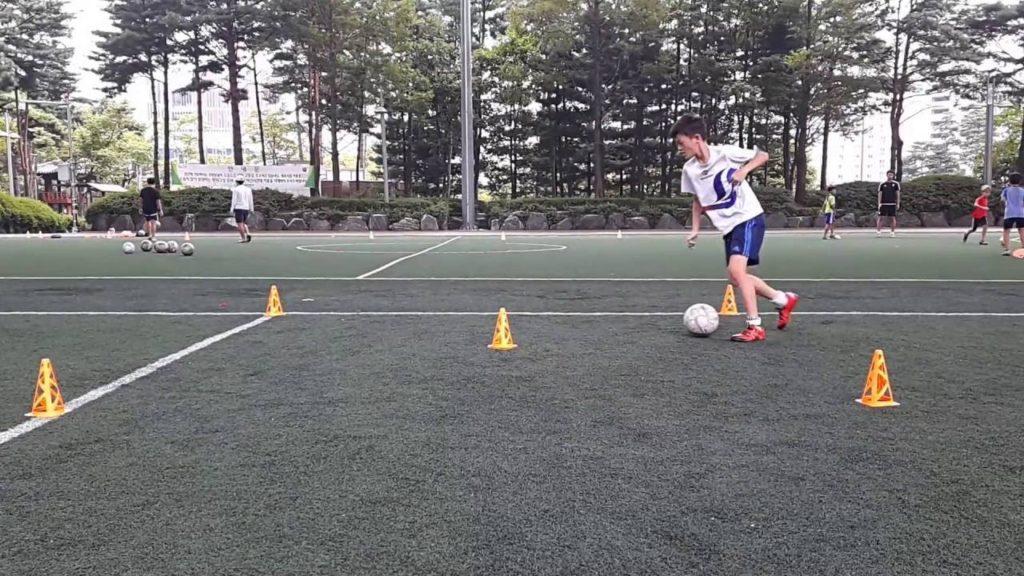 Soccer Drills – Dribbling Drill #2