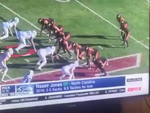 Seahawks Select Nazair Jones DT North Carolina