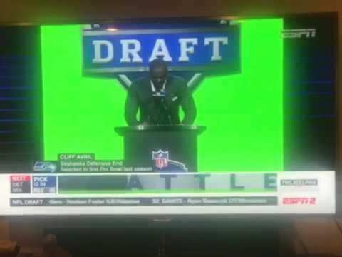 Seahawks Select Delano Hill DB Michigan