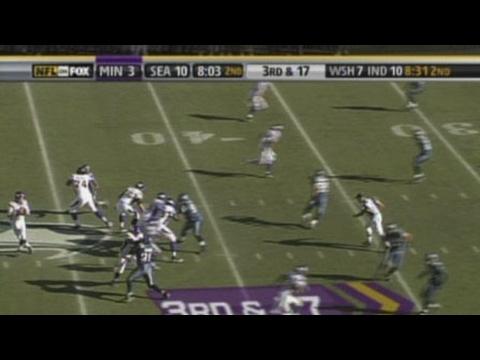 Marcus Robinson Highlight, WK 07 vs. Seahawks 2006 – (8:03) (Shotgun) B.Johnson pas