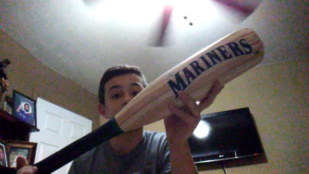 New Seattle Mariners Bat and Ball