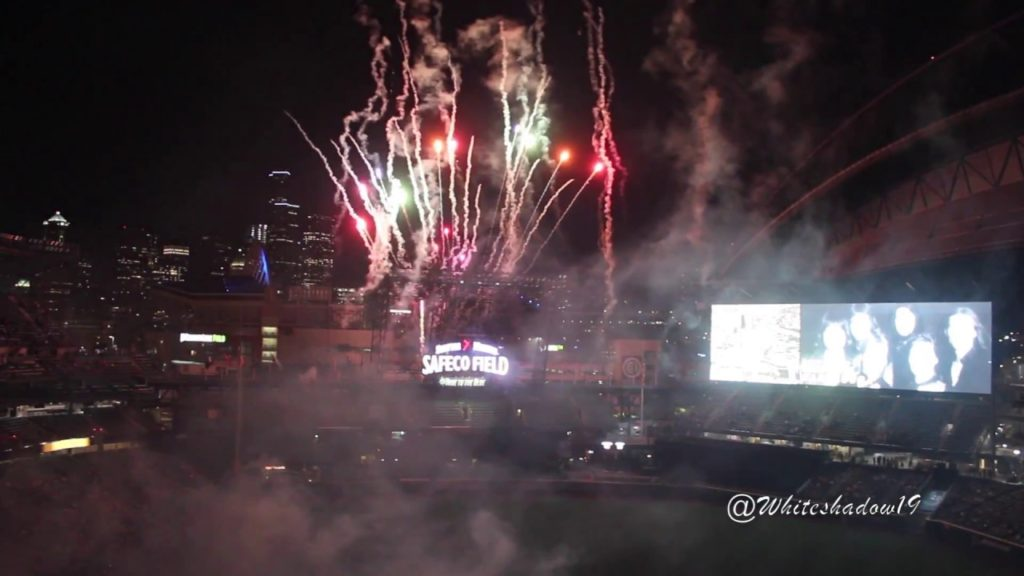 2017 Seattle Mariners Fireworks Night (Sound Of Seattle)