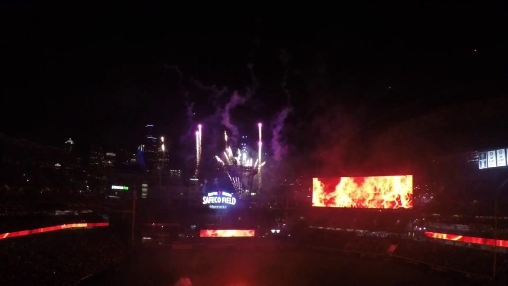 """Mariners Fireworks Night 2017 """"Sounds Of Seattle"""""""