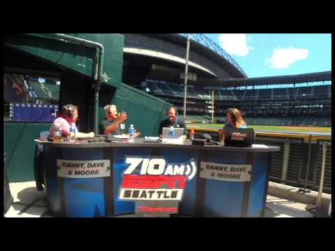 Danny, Dave and Moore interview Ben Gamel of the Seattle Mariners
