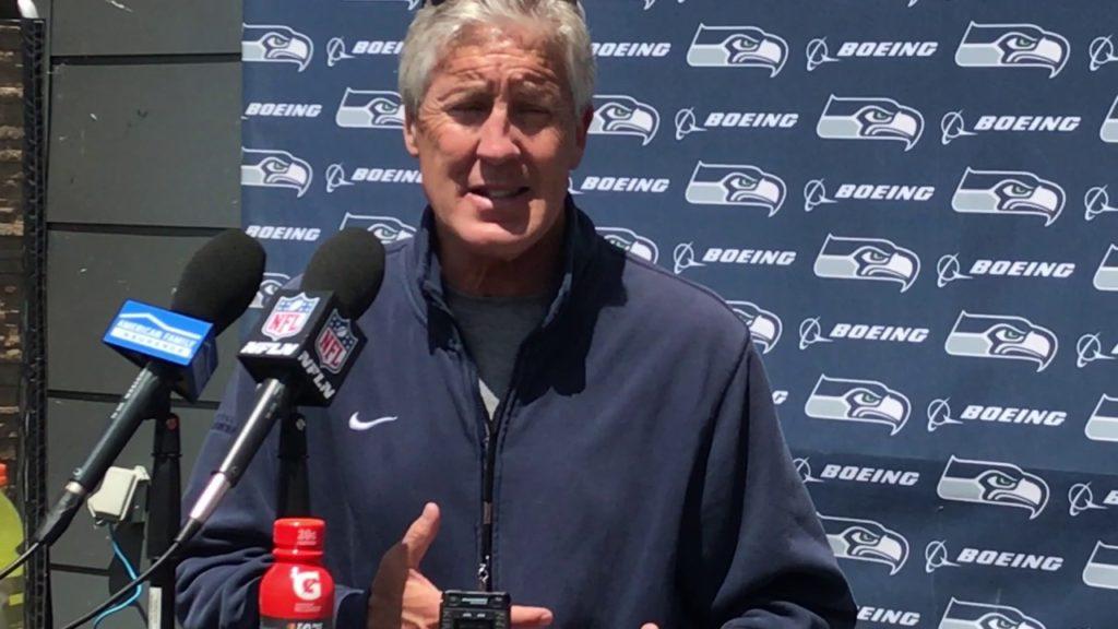 "Seahawks coach Pete Carroll: ""This locker room's in great shape"""