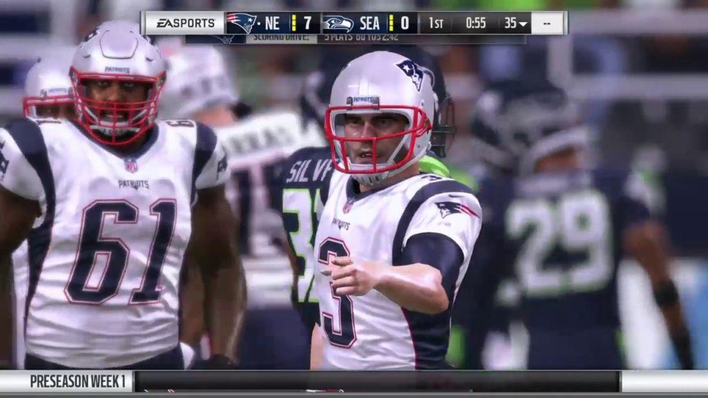 New England Patriots vs. Seattle Seahawks PreSeason Week 2017