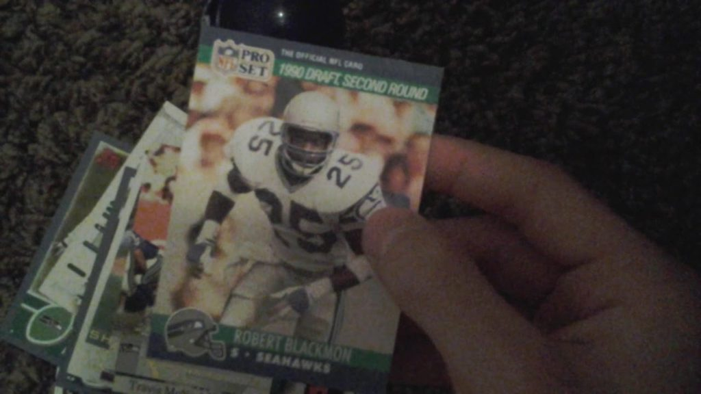 My seahawks and trail blazers cards!! Ft!! The card collector!!!