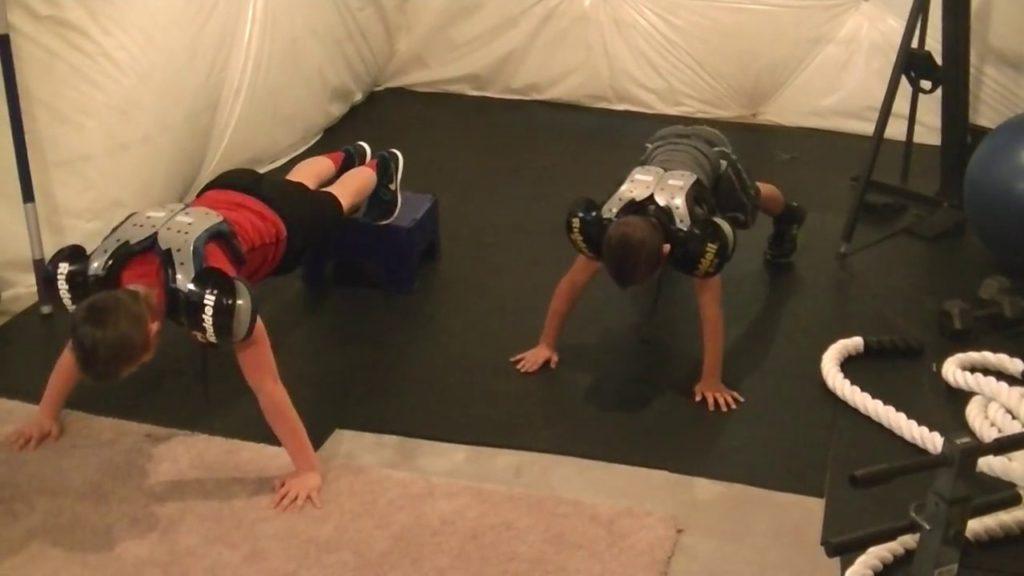 Kid Football Workout!