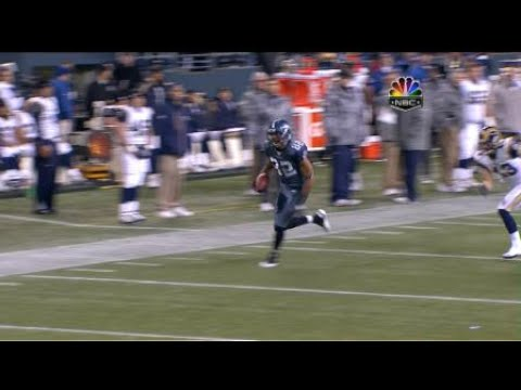 Martin 61-yard reception – Seahawks QB Charlie Whitehurst connects with WR Ruvell M