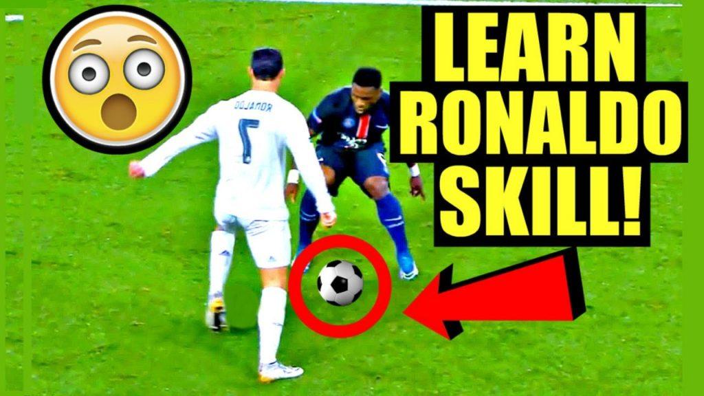 CRISTIANO RONALDO Football/Soccer Skill Tutorial (How To Do Ronaldo/Messi/Neymar Skills) SkillTwins