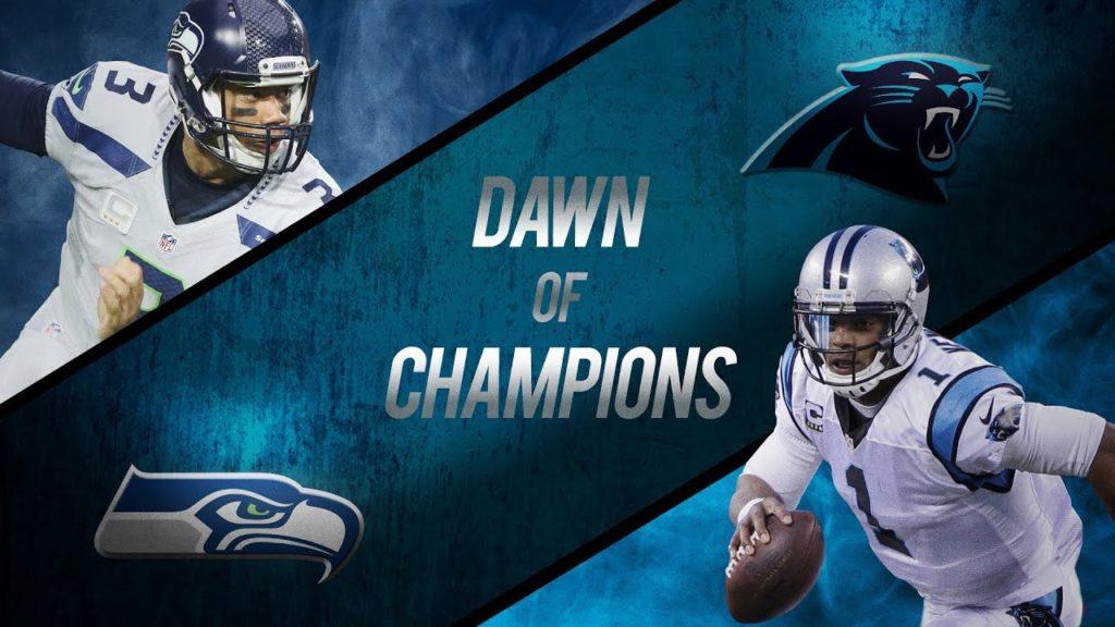 Panthers vs Seahawks Sunday Night Football!
