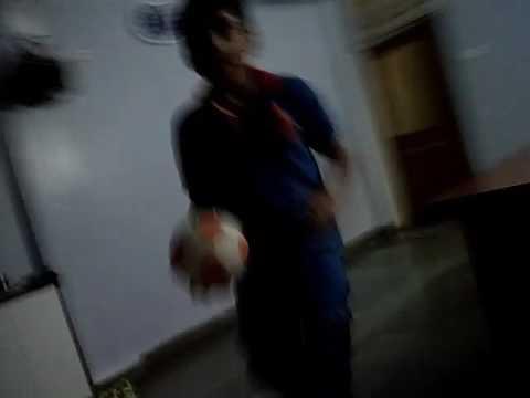 How to play football Tanay parth and hardik