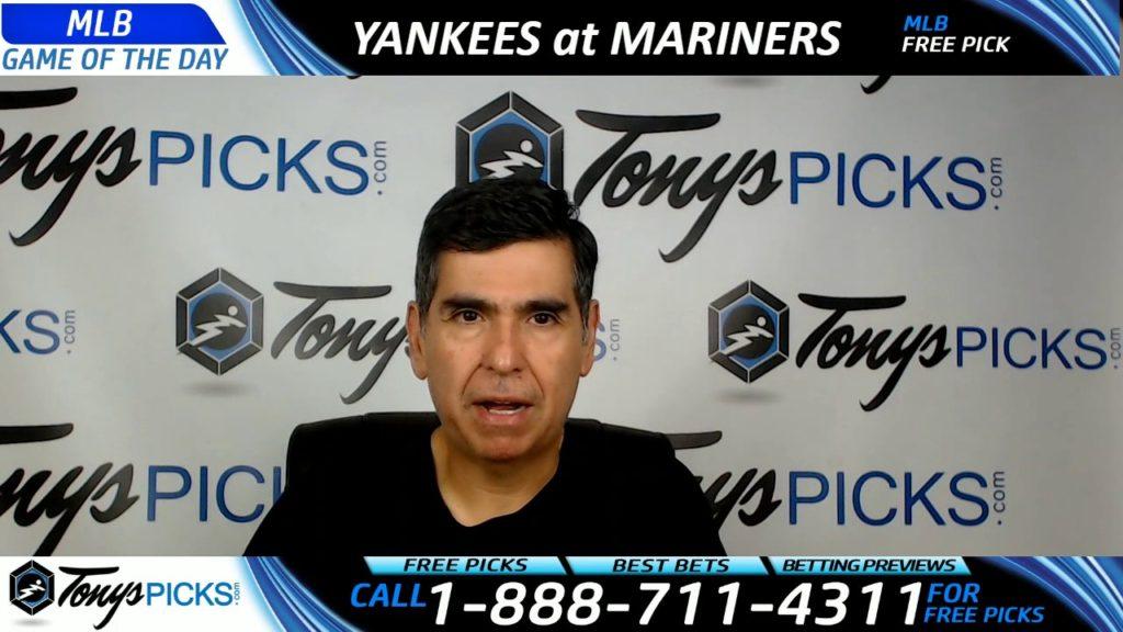 New York Yankees vs. Seattle Mariners Free MLB Baseball Picks and Predictions 7/21/17