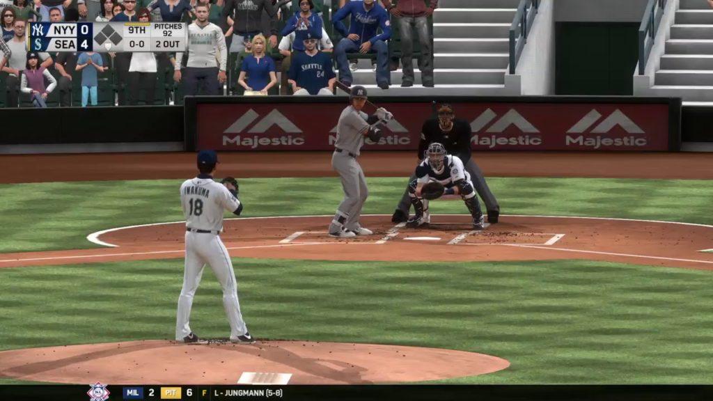 MLB The Show 17: New York Yankees vs. Seattle Mariners (07/20/17)