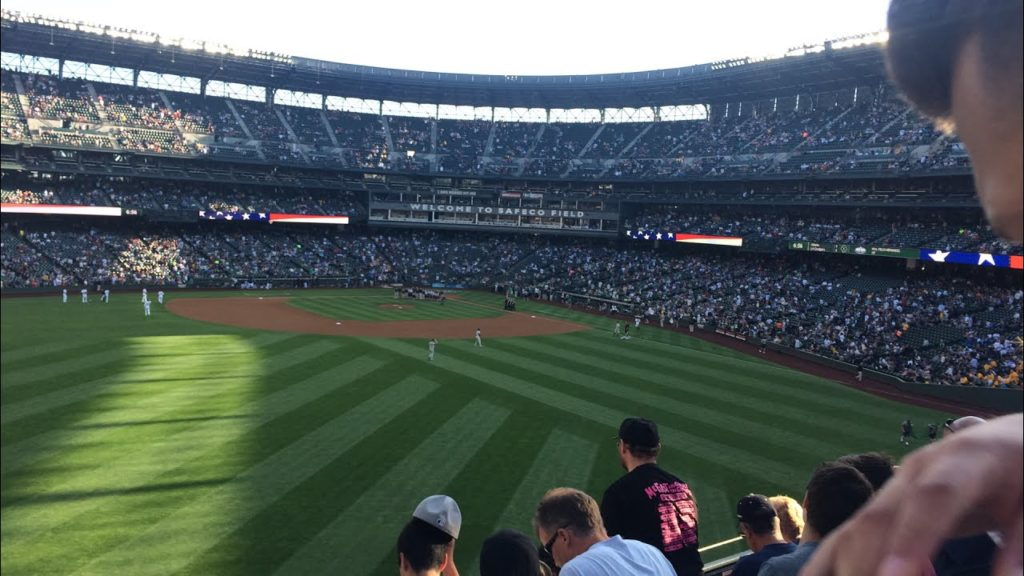 Mariners game in Seattle!