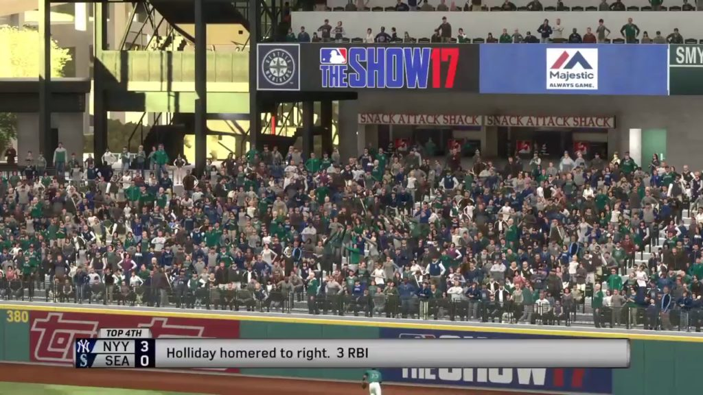 MLB The Show 17: New York Yankees vs. Seattle Mariners (07/21/17)