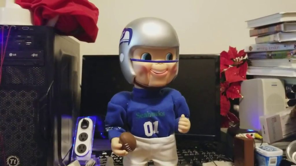 Fixing my Seahawks Rockin Randall
