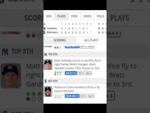 New York Yankees vs Seattle Mariners | Highlights | 7/22/17