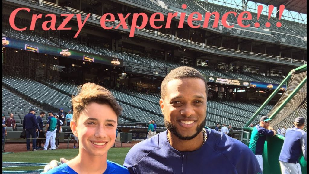 HANGING OUT WITH THE SEATTLE MARINERS!!!