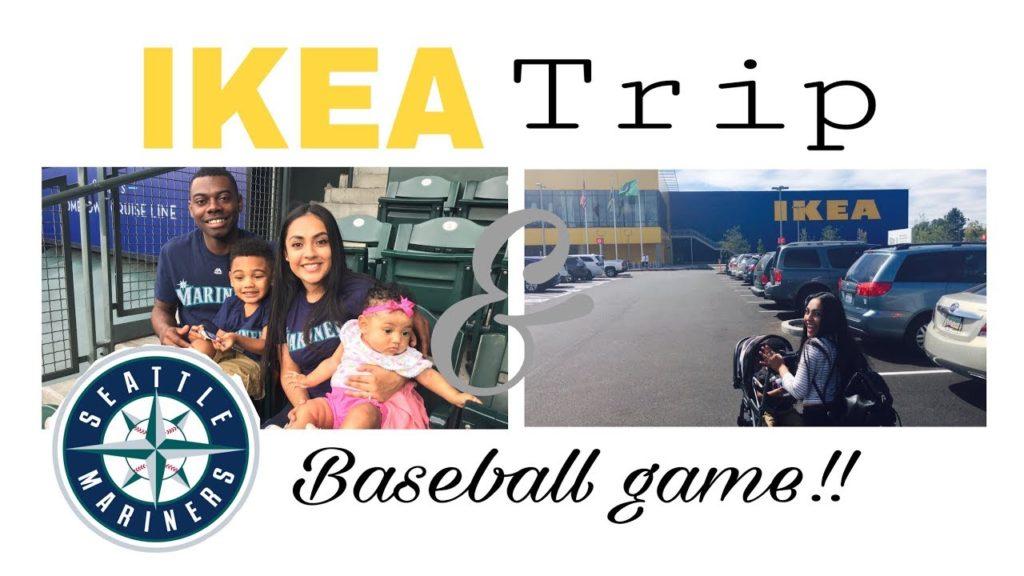 FIRST IKEA TRIP!! + MARINERS GAME VLOG!