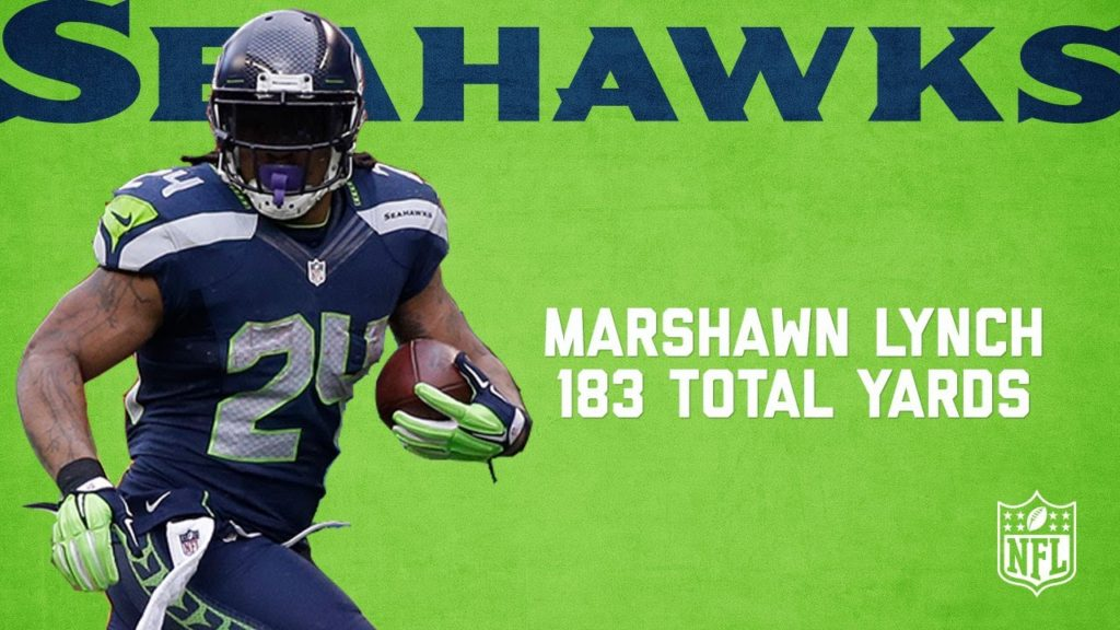 Marshawn Lynch Highlights from 183-Yard NFC Championship Game   Packers vs. Seahawks (2014)   NFL