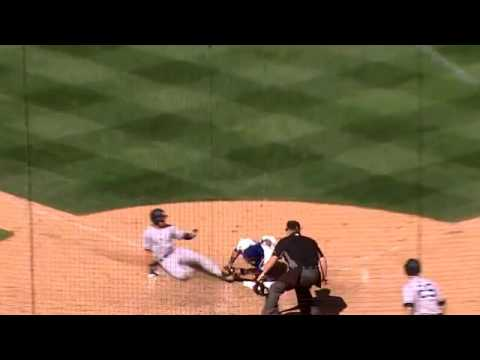 Seattle Mariners relay nabs Jacoby Ellsbury at the plate