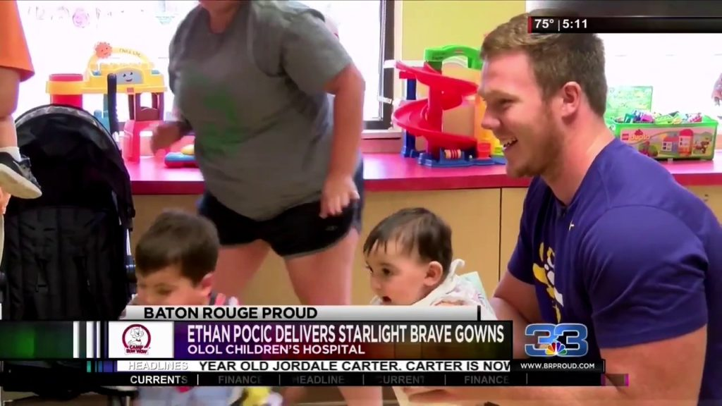 Seattle Seahawks Guard Ethan Pocic Delivers Starlight Brave Gowns