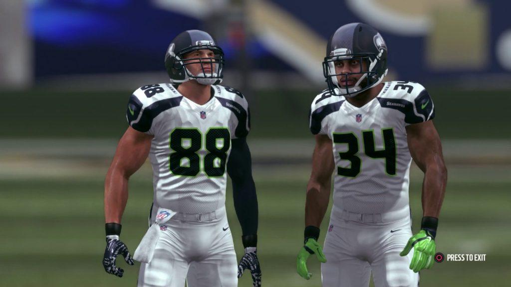 Madden 17 Seattle Seahawks Franchise Game 2 Seahawks Vs Rams CPU Vs CPU