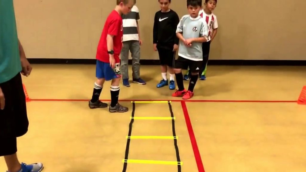 Speed and Agility Soccer Exercises for U8-U10 age group, small drills to increase ball control/speed