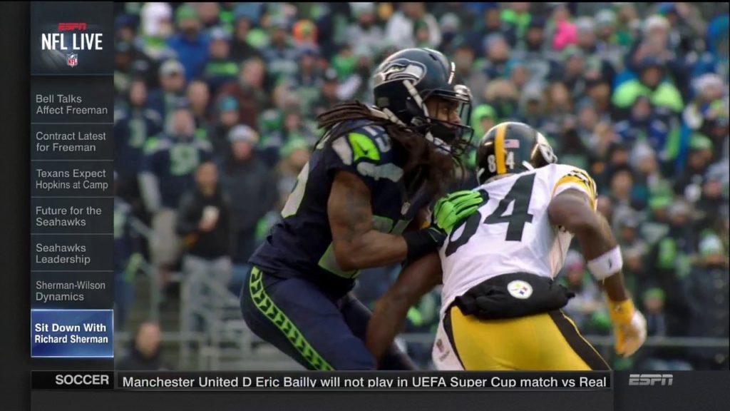 Sit Down with Seattle Seahawks Cornerback Richard Sherman | NFL Live
