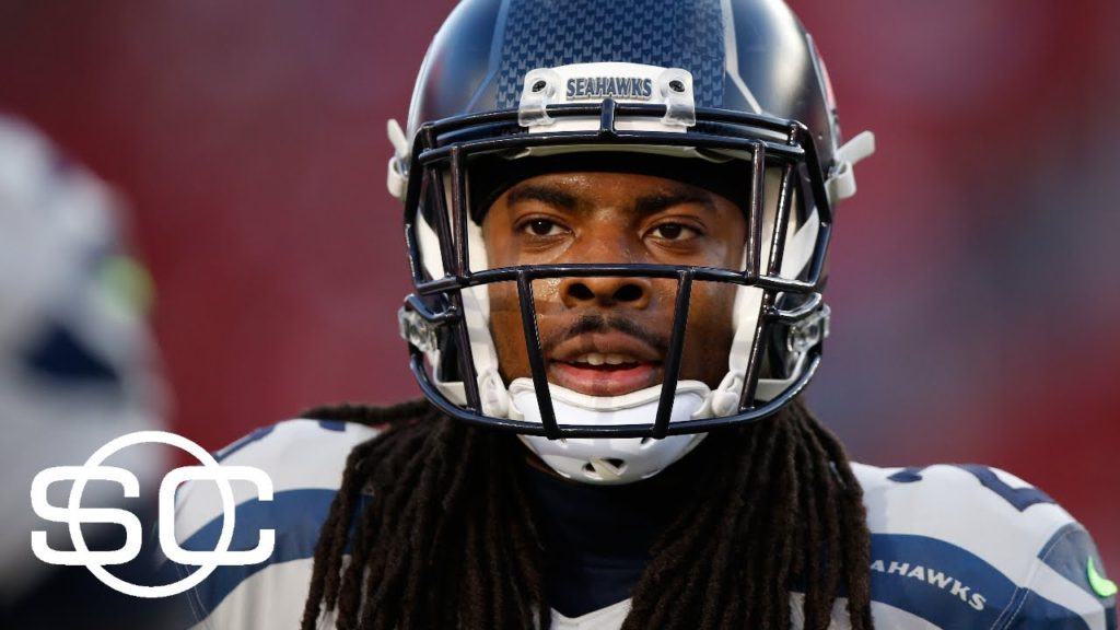Richard Sherman Discusses Trade Talks, Russell Wilson And More   SportsCenter   ESPN