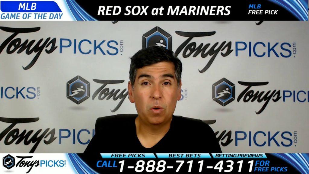 Boston Red Sox vs. Seattle Mariners Free MLB Baseball Picks and Predictions 7/25/17