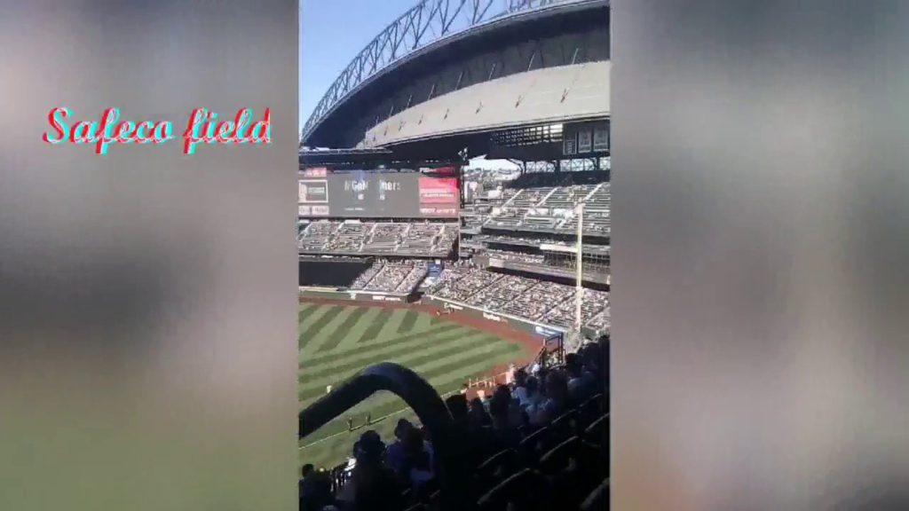 FUI A UN JUEGO DE LOS YANKEES   (Mariners Vs Yankees)